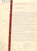 Brief Lettre - Ontvanger Lamiroy Nevele Ivm Eigendommen Sergeant - Lotenhulle - Naar Kadaster 1930 - Non Classés