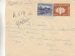 Bangladesh - Lettre Recom De 1972 - Entiers Postaux Bangladesh - - Exp Vers Dacca - Bangladesh