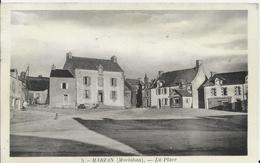 Carte Postale Ancienne De Marzan La Place - France