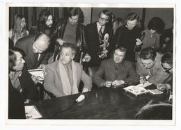 Georges Brassens Photographie De Presse - Berühmtheiten