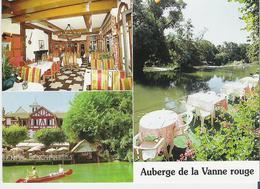 MONTIGNY SUR LOING. CP L'Auberge De La Vanne Rouge - Autres Communes