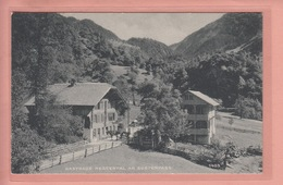 OUDE POSTKAART  - Zwitserland - SCHWEIZ - SUISSE -      GASTHAUS NESSENTAL AM SUSTENPASS - BE Berne