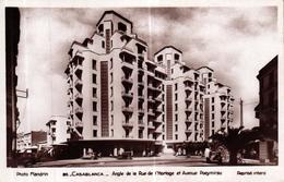 MAROC - CASABLANCA ANGLE DE LA RUE DE L'HORLOGE ET AVENUE POEYMIRAU - Casablanca