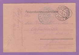 K.U.K. MINEN KOMMANDO,MARINE FELDPOST,POLA(KROATIEN)1916. - Lettres & Documents
