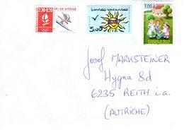 Auslands- Brief Von 77380 Combs La Ville Mit 8,30 Franc Unentwertet 2019 - 2018-... Marianne L'Engagée