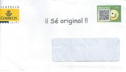 Enveloppe De Le Poste Espagnole - Mirame Bien - Sé Original - 1931-Aujourd'hui: II. République - ....Juan Carlos I