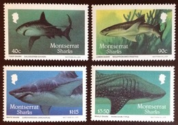 Montserrat 1987 Sharks Fish MNH - Peces