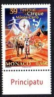 Monaco 2953 Clown, éléphant, Tigre - Circo