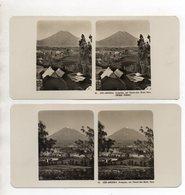 AK-2474/  2 X  Arequipa  Peru  Stereofoto NPG Foto Ca.1905 - Stereo-Photographie