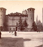 AK-1437/ Turin Castello Italien Stereofoto V Alois Beer ~ 1900 - Stereo-Photographie
