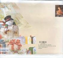 Enveloppe De Le Poste Espagnole - Timbre Préimprimé - Noël - Féliz Navidad - 1931-Aujourd'hui: II. République - ....Juan Carlos I