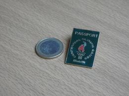 JEUX OLYMPIQUE ATLANTA 1996. USA. PASSPORT. EGF. - Jeux Olympiques