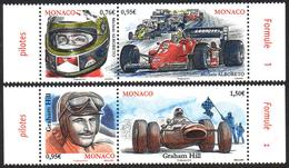 Monaco 2966/69 Formule 1, Alboreto, Graham Hill - Automobile