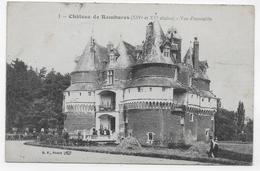 CHATEAU DE RAMBURES EN 1917 - N° 1 - VUE D' ENSEMBLE ANIMEE - CPA  VOYAGEE - Autres Communes