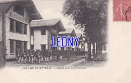 CPA De METTRAY (37) - COLONIE DE METTRAY - DEPART Pour La PROMENADE - Mettray