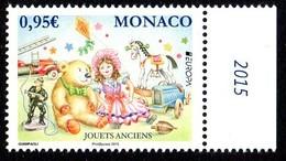 Monaco 2978 Europa, Jouets, Ours, Poupée, Pompier, Cheval, Voiture, Toupie, Cerf-volant - Europa-CEPT