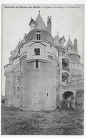 CHATEAU DE RAMBURES EN 1917 - LA GROSSE TOUR - CPA VOYAGEE - Autres Communes