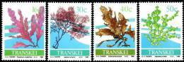 Transkei - 1988 Seaweed Set (**) # SG 213-216 , Mi 214-217 - Transkei