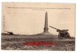 CPA - MORHANGE 57 Moselle - Monument élevé à La Mémoire Des Soldats Français - Edit. Ch. Bergeret - Morhange
