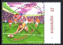 Monaco 2995 Coupe Du Monde De Rugby - Rugby