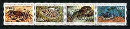 SPM MIQUELON 1995 N° 614/617 ** Neufs MNH Superbes C 7 € Faune Marine Crabe Coquillage Shells Homard Animaux - Neufs