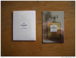 Carte Chanel N°5 Eau Première A/patch Et Pochette - Modernas (desde 1961)
