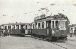 Foto-AK - Strassenbahn Linie 21 - Wien II - Haltestelle STADION 1971 - Tramways
