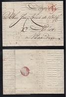 PAYS BAS - NETHERLANDS / 1778 AMSTERDAM LAC IMPRIMEE POUR AALST (ref 4973) - ...-1852 Préphilatélie
