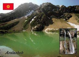 1 AK Kirgisistan * Landschaft Um Die Stadt Arslanbob * - Kirghizistan