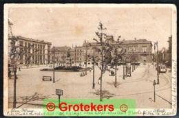 DEN HAAG Plein Met Tram / Streetcar 1914 > Madeira - Den Haag ('s-Gravenhage)