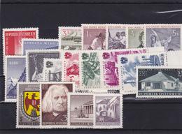 Österreich, Kpl. Jahrgang 1961** (T 12163) - Ganze Jahrgänge
