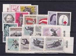 Österreich, Kpl. Jahrgang 1963** (T 12165) - Ganze Jahrgänge