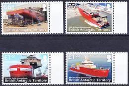 2019-0182 British Antarctic Territory 2018 RRS Sir David Attenborough Complete Set MNH ** - Britisches Antarktis-Territorium  (BAT)