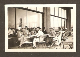 PHOTO ORIGINALE AOUT 1932 BANDOL VAR (83) TERRASSE Du CASINO - 2 Scans - Luoghi