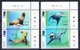 2019-0183 British Antarctic Territory 2018 Migratory Species Complete Set Of 2 Pairs MNH ** - Britisches Antarktis-Territorium  (BAT)