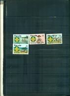TUVALU 50 SCOUTISME AU  PACIFIQUE CENTRALE 4 VAL NEUFS A PARTIR DE 0.60 EUROS - Tuvalu
