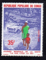 CONGO PEOPLE'S REPUBLIC 1977 WORLD HEALTH DAY 35f MNH - Neufs