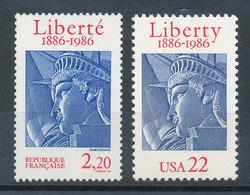 2421** Liberty - Liberté - Emission Commune France-USA - Unused Stamps