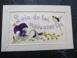 Carte Brodée 4 - Embroidered