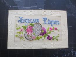 Carte Brodée 8 - Embroidered