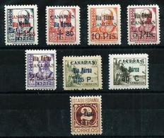 Canarias (España) Nº 44/51 Nuevo Cat.197€ - 1931-Hoy: 2ª República - ... Juan Carlos I