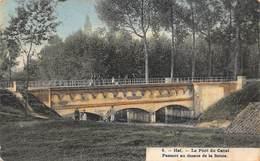 Hal  Halle    Brug Over Het Kanaal   Pont Du Canal   Passant Au Dessus De La Senne       L 307 - Halle