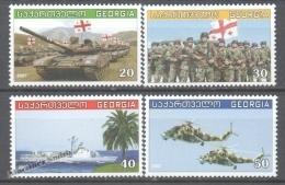 Georgie - Georgia 2007 Yvert 428-31, The Georgian Armed Forces - MNH - Georgia