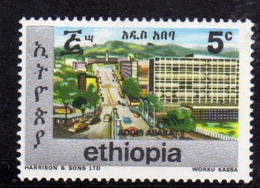 ETHIOPIA ETIOPIA ETHIOPIE 1977 TOWNS OF ADDIS ABEBA CENT. 5c MNH - Etiopia