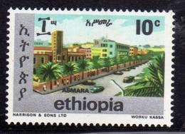 ETHIOPIA ETIOPIA ETHIOPIE 1977 TOWNS OF ADDIS ASMARA CENT. 10c MNH - Etiopia