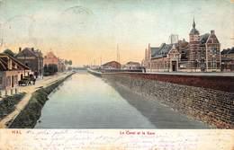 Hal  Halle    Het Kanaal En Het Station    Le Canal Et La Gare  Treinstation        L 312 - Halle