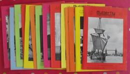 14 Revues Butterfly, English-French Magazine. Revue Pédagogique1970-1972 - Pédagogie