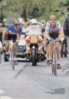 CYCLISME : PHOTO (1983), Chanteloup, Trophée Des Grimpeurs, Victoire De Kim Andersen, Régis Clère, Coop, Coupure Revue - Vieux Papiers