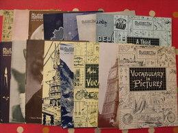 16 Revues Butterfly, English-French Magazine. Revue Pédagogique1955-1958 - Pédagogie