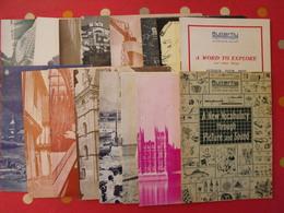 16 Revues Butterfly, English-French Magazine. Revue Pédagogique1958-1960 - Pédagogie